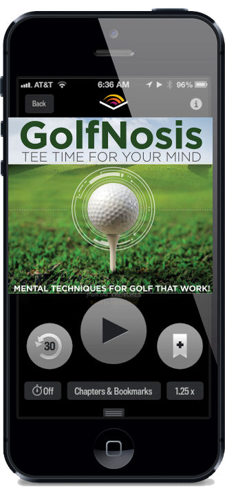 GolfNosis - Rediscovering Relaxation - Audio Book